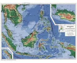 China Physical Map by Maps Of Indonesia Detailed Map Of Indonesia In English Tourist