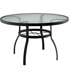 round glass top patio table lowes patio dining adca22 org