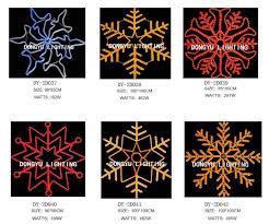 led motif light big snowflake window light warm
