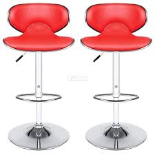 Red Leather Kitchen Chairs - articles with cuban red faux leather breakfast kitchen bar stools