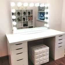 Diy Vanity Table Makeup Table With Lights Diy Vanity Set Cheap Smart Phones Mirror
