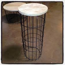 Wire Side Table Wire Side Table Tall Nadeau Dallas