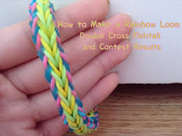 double cross bracelet images How to make a double cross fishtail rainbow loom bracelet and jpg