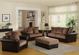 brown living room furniture color schemes for brown furniture