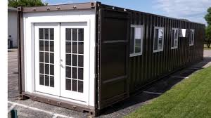 fully equipped prefab shipping container tiny home on amazon