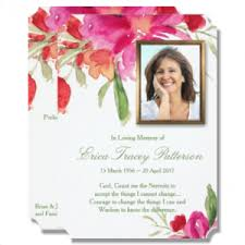 funeral stationary funeral stationery archives budget invitations