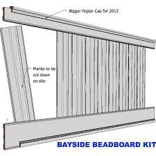 28 beadboard wainscoting kits pvc vinyl 8x3 beadboard kit
