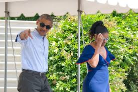 barack and michelle obama leave palm springs for richard branson u0027s