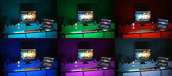 purple led lights for computers fs remote controlled rgb led strip mycdosale com with led lights for