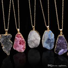 natural stone necklace pendant images Wholesale natural stone jewelry pendants necklaces natural stones jpg