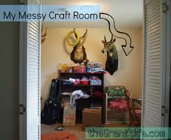 inside my messy craft room the grant life