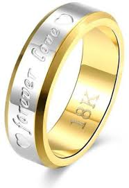 name wedding rings images Buy bfjoi engraving name anniversary rings for women men gold jpg