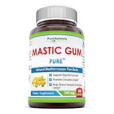 Mediterranean Kitchen Mastic Amazon Com Pure Naturals Mastic Gum 500 Mg 60 Count Health