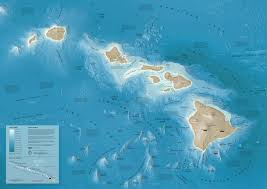 Molokai Map Mountains Unseen Developing A Relief Map Of The Hawaiian Seafloor