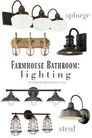Bathroom Lighting Design Tips Bathroom Lighting Farmhouse Bathroom Lighting Small Home