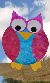 owl halloween crafts for kids handmade kids art