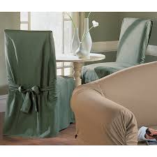dining chair slipcovers sure fit cotton duck dining chair slipcover