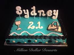 Awesome Wine Glasses 21st Birthday Cake W Wine Glass Purse And Pearls