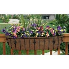 the 25 best railing planters ideas on pinterest flowers for