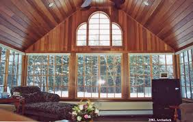what is a cathedral ceiling and why would your porch or sunroom