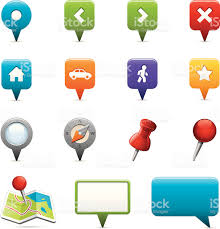 map icons stock vector art 165751341 istock