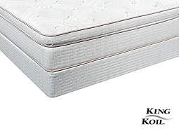 King Koil Bamboo Comfort Classic Pillowtop Mattresses King Queen Twin U0026 Full Mattresses