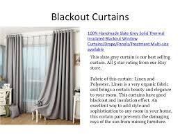 Slate Grey Curtains Custom Made Curtains On