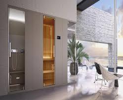 bilder fã rs badezimmer kleine sauna furs badezimmer bananaleaks co
