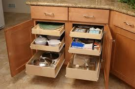 Kitchen Cabinet Slide Out Organizers Kitchen Kitchen Storage Cabinet In Brown With Wooden Pull Out