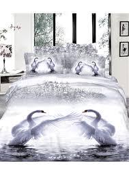 cartoon 3d 4pcs printing bedclothes duvet cover bed sheet children