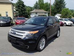 Ford Explorer Xlt 2013 - 2013 ford explorer xlt 4wd in tuxedo black metallic c43583