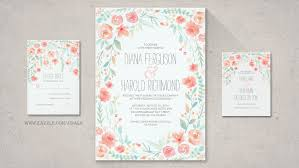 read more floral wreath wedding invitation wedding invitations
