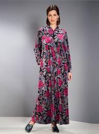 robe de chambre zipp femme de chambre david nieper robe de chambre zipp茅e blancheporte