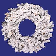vickerman wreaths unlit sears