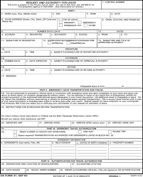 Counseling Form 4856 Fillable Da Form 31 Da31 Army Leave Form