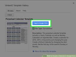the 2 best ways to create a calendar in google docs wikihow