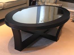 long black coffee table wegner shell chair oval mirrored coffee table 24 inch square large