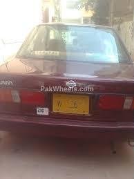 nissan sunny 1993 nissan sunny ex saloon automatic 1 3 1993 for sale in karachi