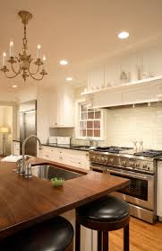 custom kitchen stunning custom kitchen sinks wood countertop