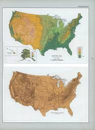 Physiographic Map Of The United States by United States History I