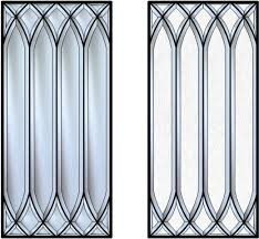 Beveled Glass Inserts For My Kitchen Cabinets Done By SGO - Glass inserts for kitchen cabinet doors