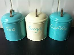 28 teal kitchen canisters canister set teal 11 14 amp 16cm teal kitchen canisters teal tea coffee sugar kitchen canister jar tins ideal