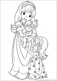 printable 21 precious moments baby coloring pages 7303 precious