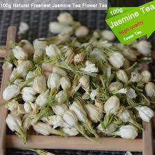 Jasmine Tea Flowers - 2016 new tea 100g natural freshest jasmine tea flower tea organic