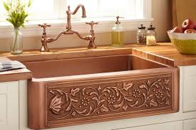 Black Farmers Sink by Sink 33 Vine Design Copper Farmhouse Sink Beautiful 33 22