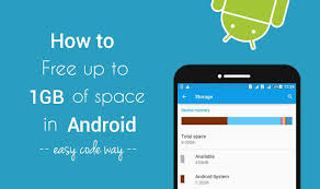 free for android phone how to free up to 1gb space in your android phone