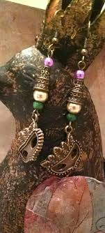 mardi gras earrings copyrighted design mardi gras earrings 12 13 jewelry
