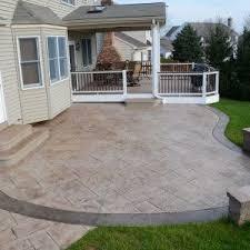 Patio Concrete Tiles 49 Best Patio Images On Pinterest Patios Stamped Concrete