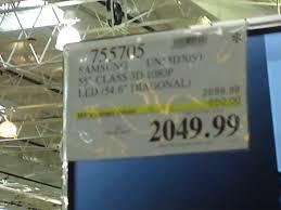 3d class price costco sale samsung 55 class 3d 1080p led smart tv 2049 99