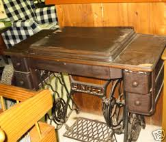 Antique Singer Sewing Machine Table Sewing Machine Tablestandindustrial Sewing Machine Table Dining